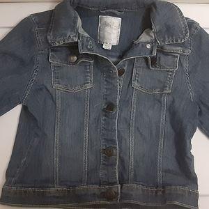 Gymboree Girls Denim Jacket Size 7-8